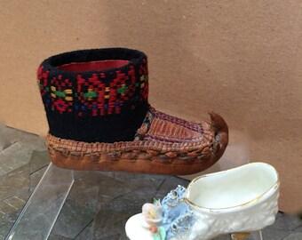 Unlikely Pair of Vintage Miniature Shoes