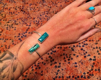TUQUOISE WRAPPED CUFF