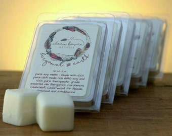 Wax Melts - Soy Wax Melts with Essential Oils  - Wax Tarts - Soy Tarts - Home Fragrance - Aromatherapy - Natural Soy