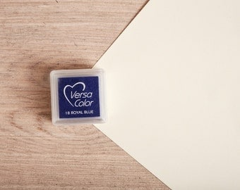 Blue - Rubber Stamp Mini Ink Pad