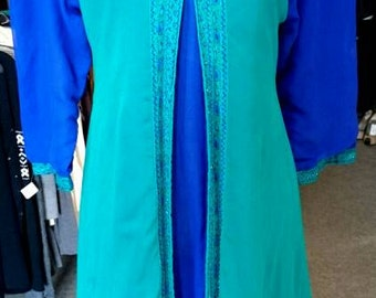 Vintage 1970's Middle Eastern Dress