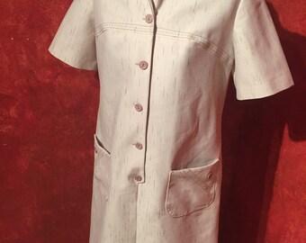 Unbelievably Cool 1960s Beatnik Dress/ Size- 12