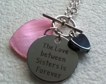 Love Between Sisters Toggle Necklace