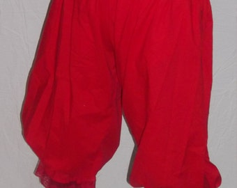 Plus pantaloons in a choice of colors and sizes
