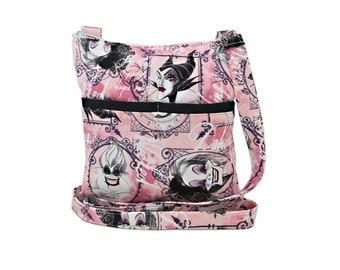 Disney Villains Crossbody Bag // Sling Bag // Crossbody Purse // Shoulder Bag // Hipster