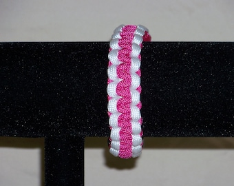 Paracord Bracelet, Breast Cancer Awareness