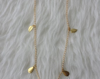 "Chain ""gold leaves"""