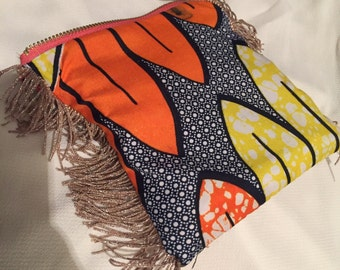 African frill purse