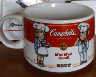 Vintage Campbell's Soup 1997 Soup Bowl Collection