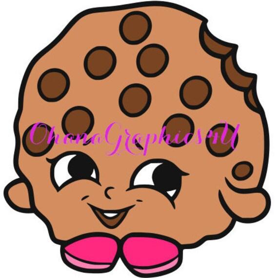 Shopkins Inspired Kooky Cookie SVG