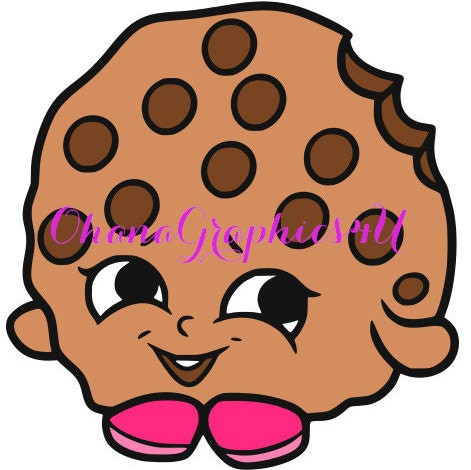 Shopkins Inspired Kooky Cookie SVG From OhanaGraphics4U On