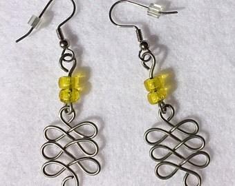 Looped Wire Earrings