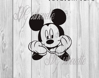 Mickey Mouse  SVG Cutting file,Vector Clipart, Heat transfer vinyl design, Pattern, png, svg,  eps, dxf files for Silhouette, Cricut #3
