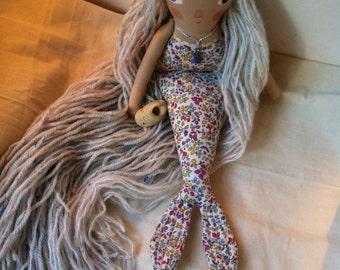 Little elfmaid folk art doll
