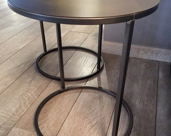 "18"" Coffee table base, side table base, round table base"
