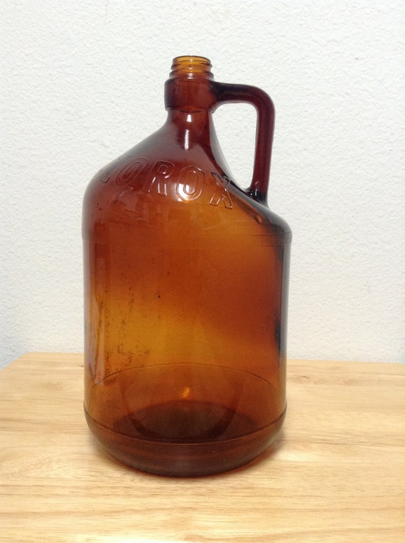Gallon Amber Glass Jug