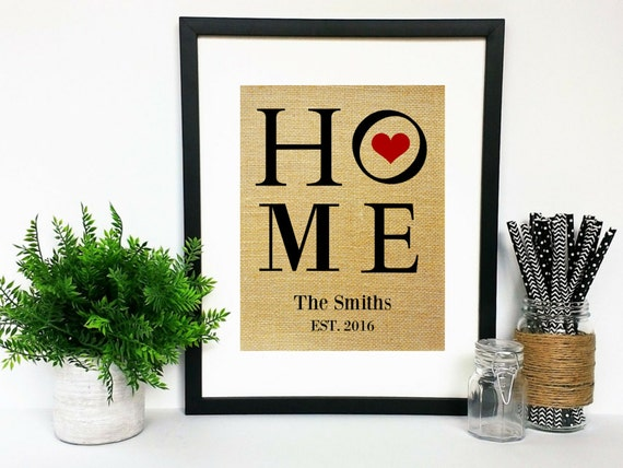 print only modern housewarming gift personalized house warming