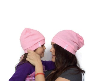 Tuque Beanie like MOM as Dad - baby child teen adult - short or long