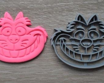 Cheshire Cat Cookie Cutter Fondant Cutter