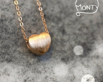 Little Life - Sterling Silver Necklace (Rose Gold plated)