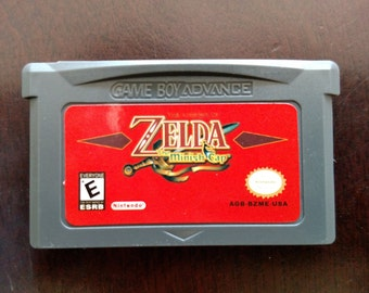 Zelda The Minish Cap for GBA / SP Play & Save Tested (4/29/16)!!
