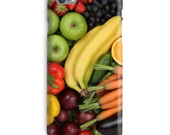 Banana iPhone Case, Apples iphone case, Fruits iphone 6 case, Veggie iphone 6 case, Carrots iphone 6s case, Food iphone case