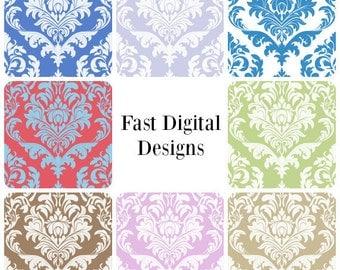 8 Digital Patterns