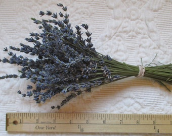 Dried Lavender Bunch - Dried Lavender Bouquet - Dried Lavender Bundle - Dried Lavender Stems - Natural Lavender from Havenhill Cottage
