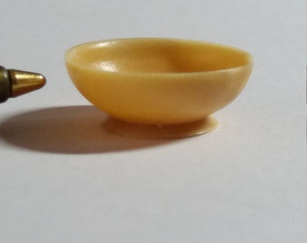 Handcrafted Dolls House Miniature Palm Nut Bowl