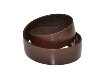 Double Wrap Bracelet / Leather Wrist Cuff, Brown Leather Bracelet / Mens Leather Bracelet, Leather Bracelet Women, Leather Cuff Bracelet