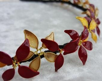 Gryffindor Flower Crown