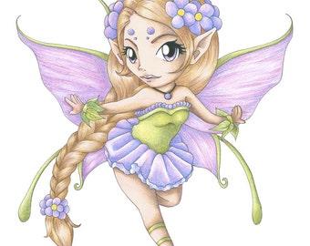 Flower Fairy print