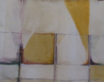 An abstract original oil on canvas