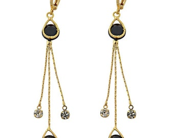 GOLD LAYERED EARRING