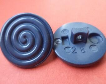 10 blue buttons 18mm (6365) button jacket buttons