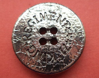 10 buttons silver 22mm (6144) button