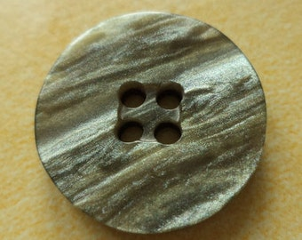 10 buttons 20mm grey-green (2896) button