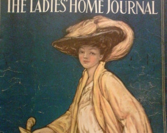The Ladies Home Journal march 1909 Spring Fashions