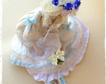Interior textile Tilde Boho style doll
