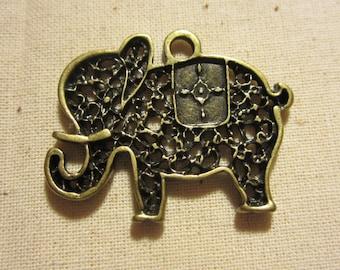 Elephant Charm x5