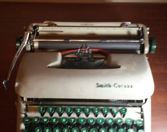 Antique Smith Corona typewriter for sale