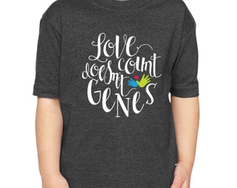 Love Doesn't Count Genes Infant & Toddler Tee