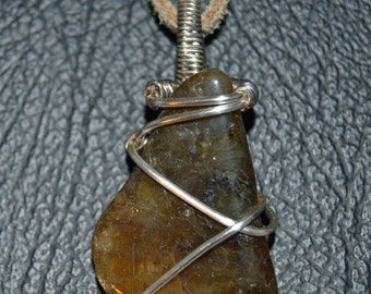 Wire Wrapped Stone