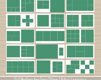 Multipurpose 12x12 Square Album Template - 30 Pages - WHCC - SKU: HD101