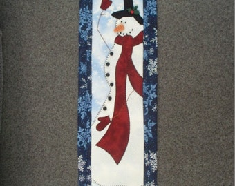 Decorative Snowman Wall Hanging