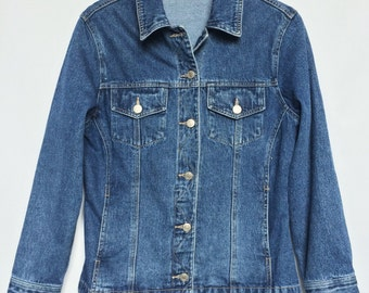 Vintage Fitted Denim Jacket