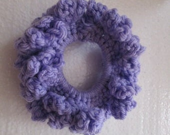 Lavender Hair Scrunchie
