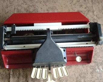 Perkins brailler typewriter