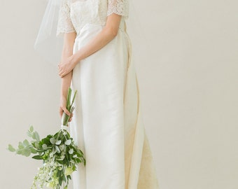 Original Vintage 50s wedding dress - Chantal