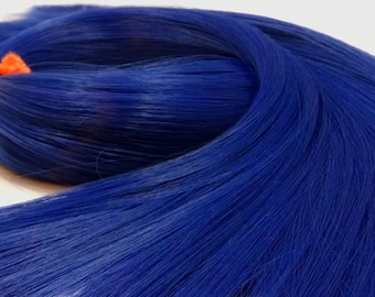 Tardis Blue Nylon Doll Hair Hank Rerooting Barbie, Monster High, Ever After, Crissy, Blythe Rehair My Little Pony Intl Shipping